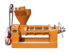 6YL-160 oil press extruder